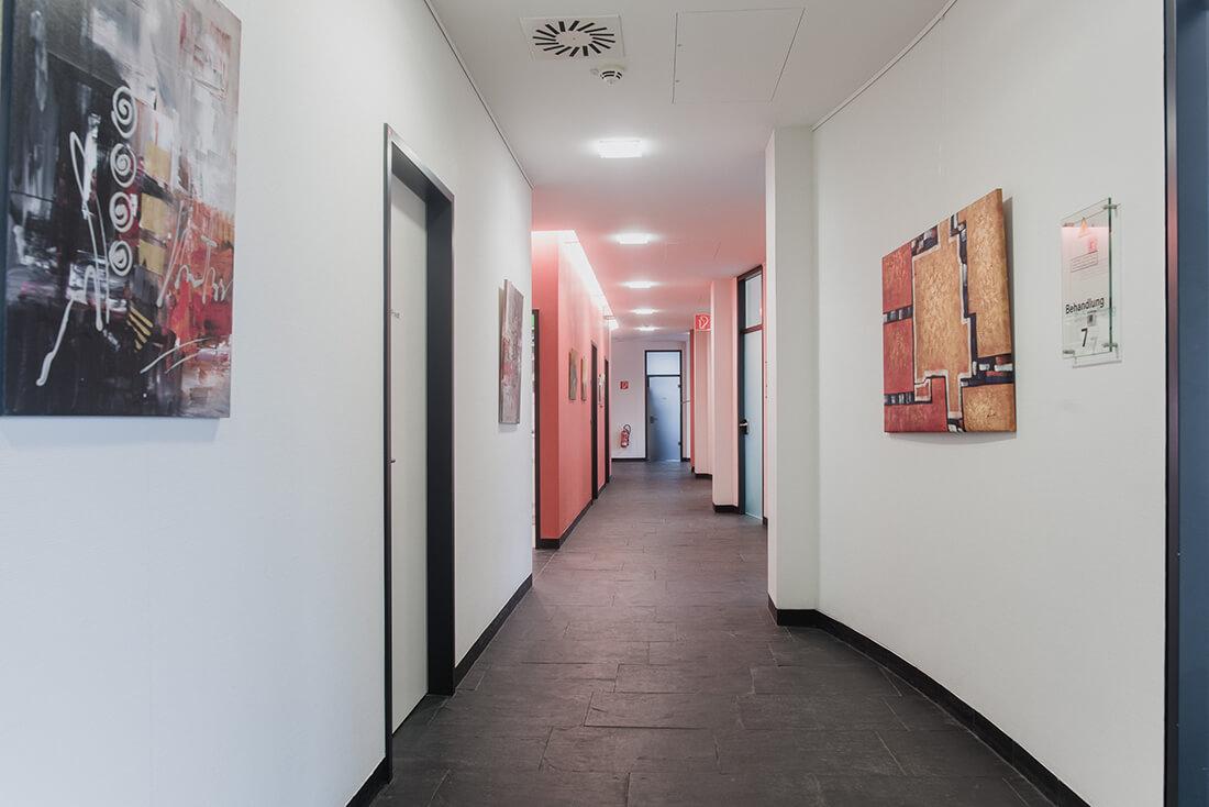 Räume Praxisklinik für Chirurgie und Implantate Pforzheim